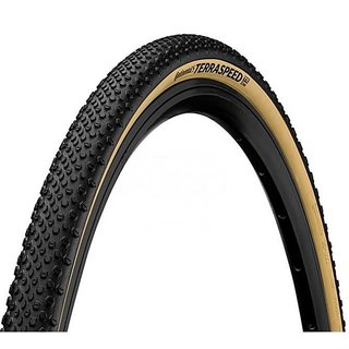 Gravel Reifen CONTINENTAL Terra Speed ProTection, 700 x 35, 35-622, Schwarz/Cream