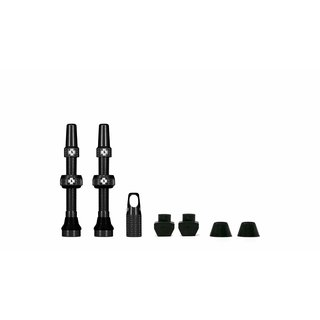 Muc Off Tubeless Valve Kit Universal for MTB & Road, Farbe: Schwarz
