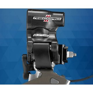 Campagnolo RECORD 11s Umwerfer EPS Anlöt, FD15-RE2BEPS