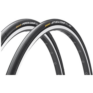 Conti Attack Comp & Force Comp Set Tubular, 28x22/24 mm