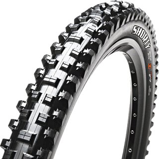 Reifen Maxxis 27,5x2.40 Shorty DH,  (61-584 - 650B), SuperTacky 42a Downhill